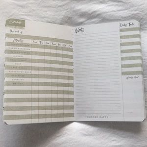 Office - Notes and Schedule Notebooks